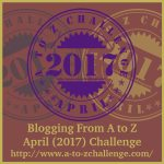 #AtoZChallenge 2017 Eclectic Evelyn.com