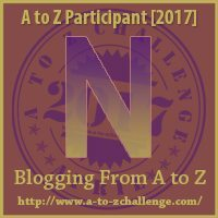 N #AtoZChallenge EclecticEvelyn.com