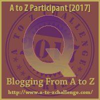 Q #AtoZChallenge EclecticEvelyn.com