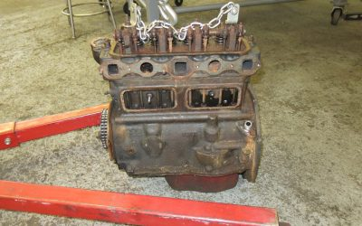 Disassembly and evaluation of the engine