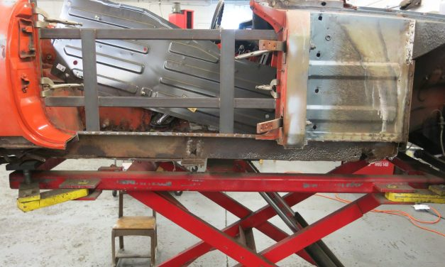 Inner sill repairs on passenger side