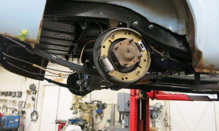 Rear suspension and brake renewal