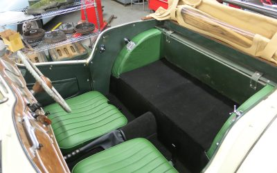 Seat Back and Finishing Carpet