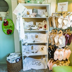 Slippers & Gifts at The Eclectic Peacock