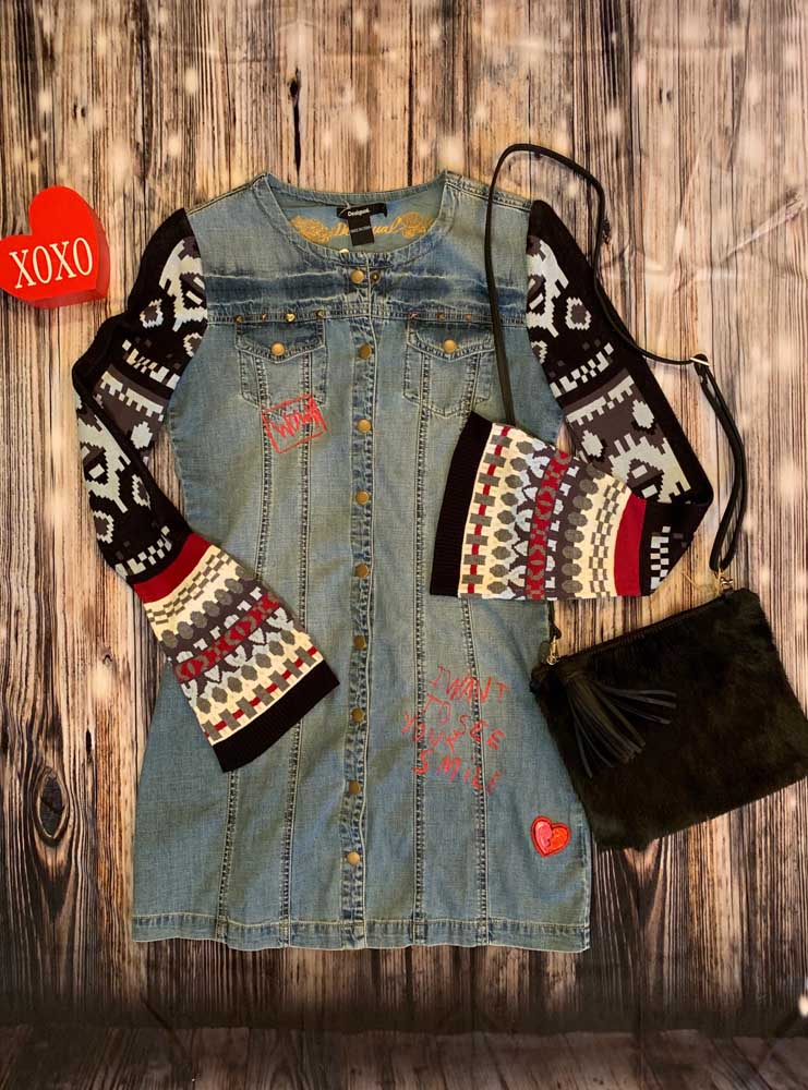 Desigual – Denim Dress