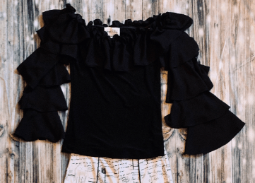 Joseph Ribkoff Black Top
