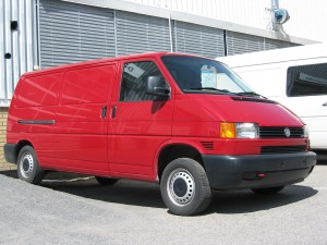This is not the actual van in question. The real one is identical in shape and colour, though.