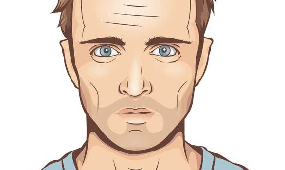 Jesse Pinkman Cartoon Portrait