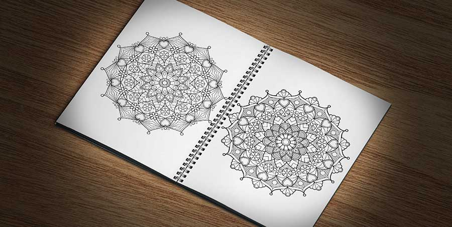 Create Your Own Mandala Coloring Page