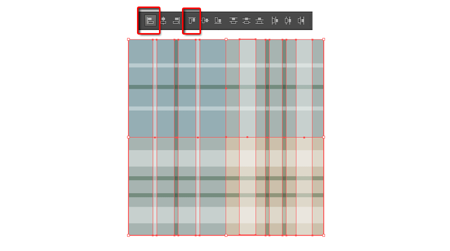 How to Make a Plaid Pattern Step 12