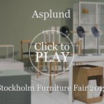 Stockholm Furniture Fair 2013: Asplund