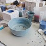 Alissa and Nienke Ceramics in Milan