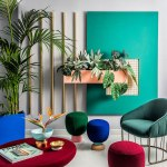 The colorful workspace of Masquespacio