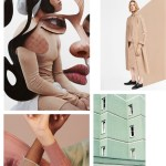 Color Inspiration No.6: Sunbasque, Lounge Green, Tea Rose, Vine and Black