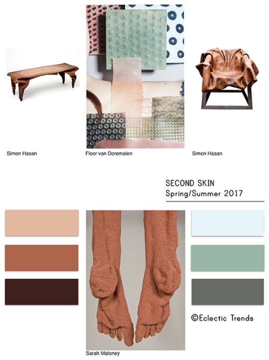 Second Skin-Interior Design & Lifestyle Trend Spring Summer 2017-©Eclectic Trends