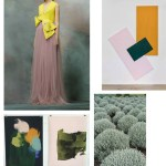 Color Inspiration No.8: Stone Green, Rose, Lemon Butter, Amber & Pine