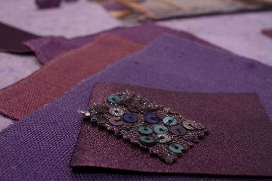 How to create a tone-on-tone color mood board-The Violet Series via Eclectic Trends