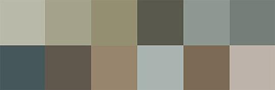 3 Jotun Colors for 2018 - Lush Garden Color Palette via Eclectic Trends
