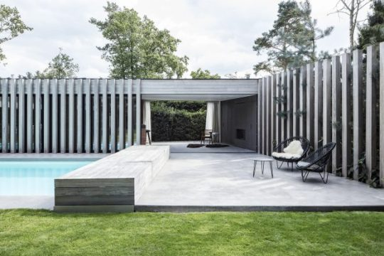 Eclectic Trends | Sophisticated pool house by Arjaan De Feyter
