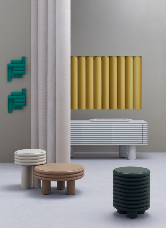 Eclectic Trends | The ribbed surface: the latest trend in interior design