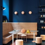 Studiopepe's interior design of Cafezal coffee shop in Milan