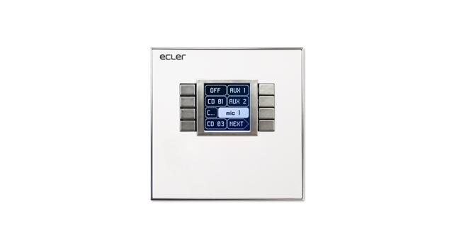 Ecler WPNET8K EclerNet wall panel control