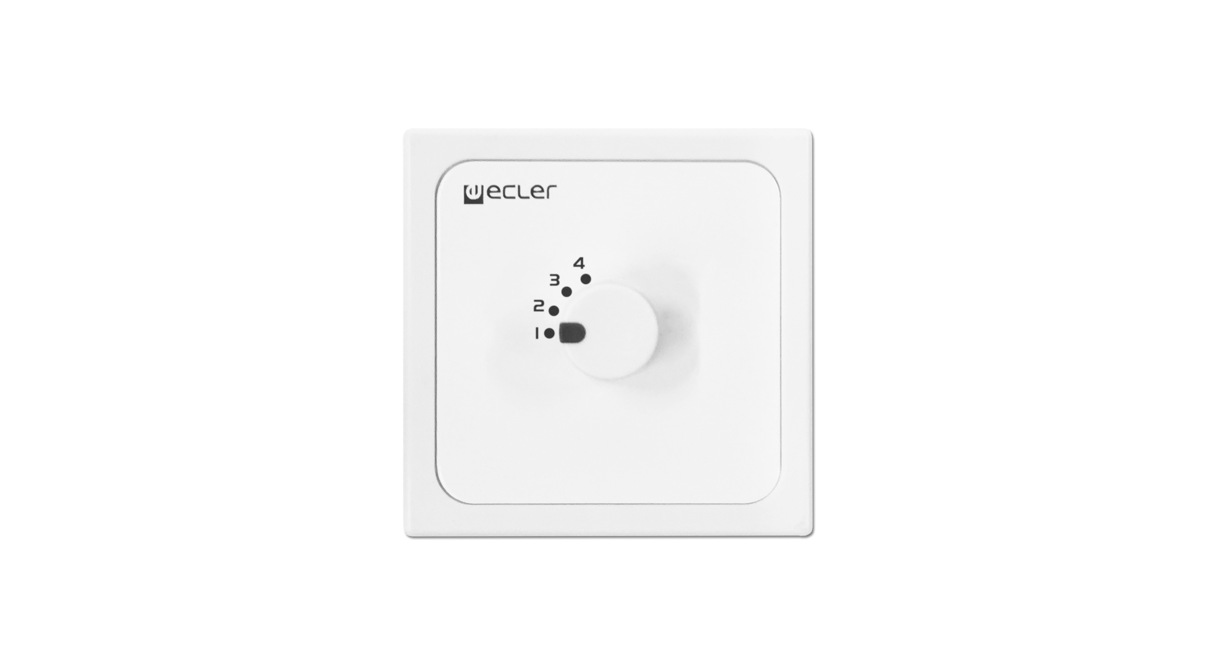 Ecler WPMH-SL4 Remote Wall Panel controls 70 / 100V V line