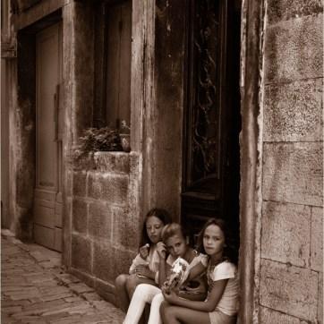 Rovinj, Croatia, side street, street photography, travel photography