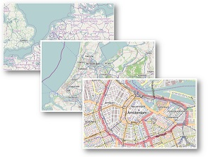 The GeoMap is a control that allows you to display data from an openstreetmap server.
