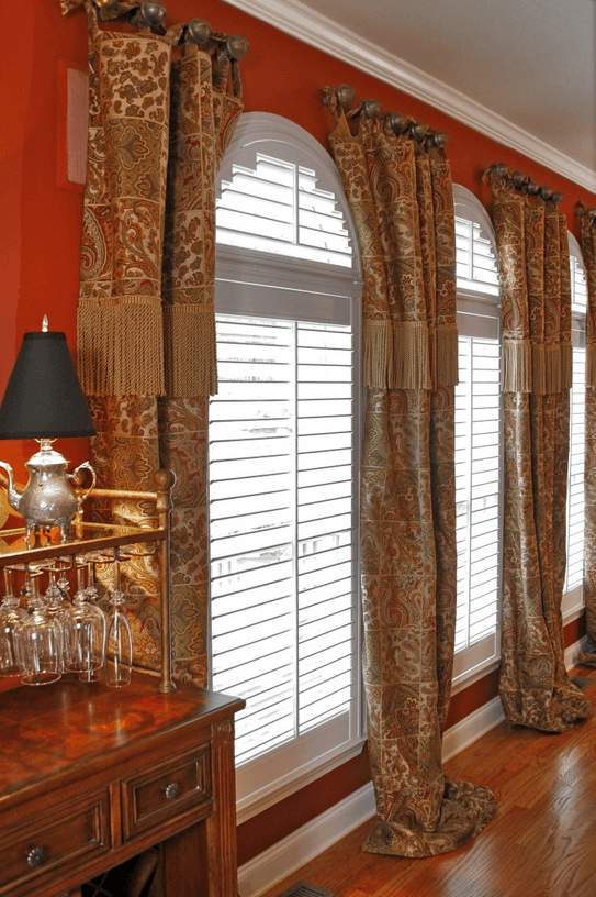 Window Treatments to Pair with Plantation Shutters