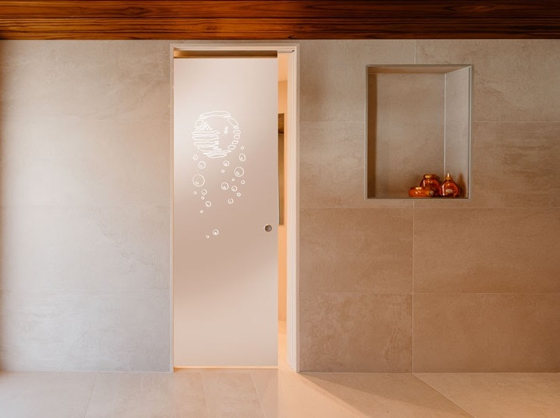 Eclisse Pocket Doors for Bathrooms  A small bathroom or