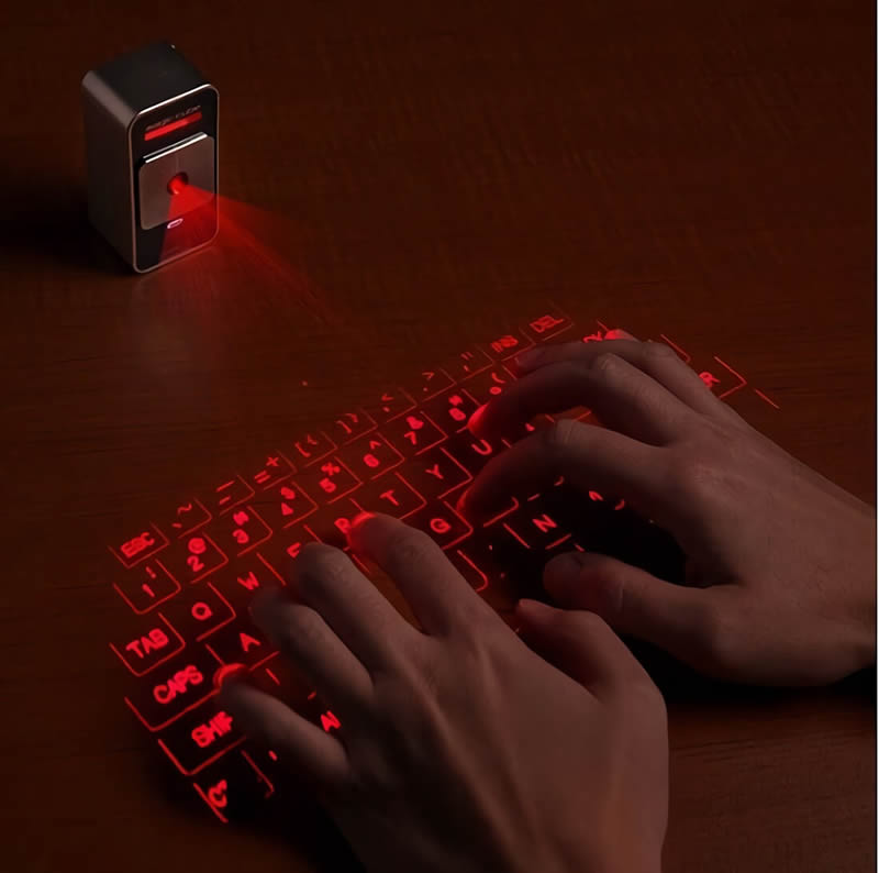 Gadget teclado láser virtual | Eclixxo.com