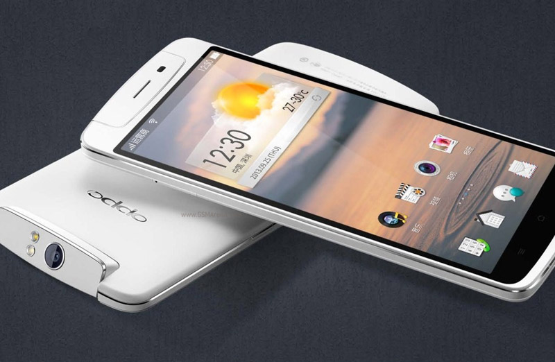 Oppo N1 mini con una cámara de 13MP giratoria