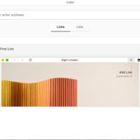 Colibri, navegador minimalista sin pestañas