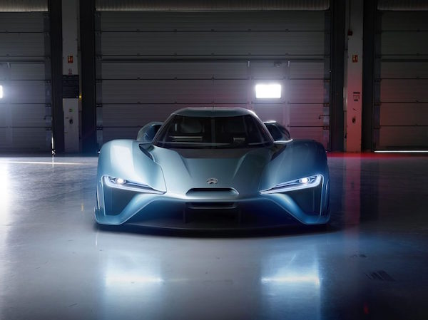 NIO EP9, la bestia china de los automóviles eléctricos