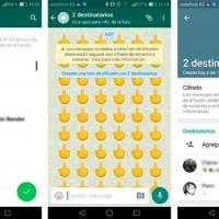 WhatsApp ¿qué diferencia un chat grupal de uno de difusión?