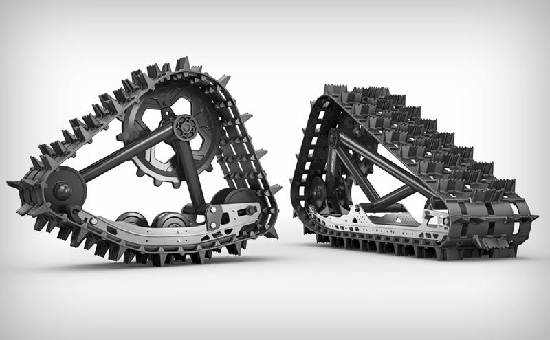 Una moto de nieve, literalmente, bestial | Eclixxo.com