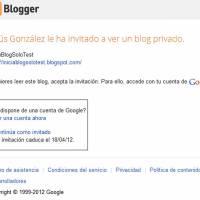 Configurar un blog privado en Blogger