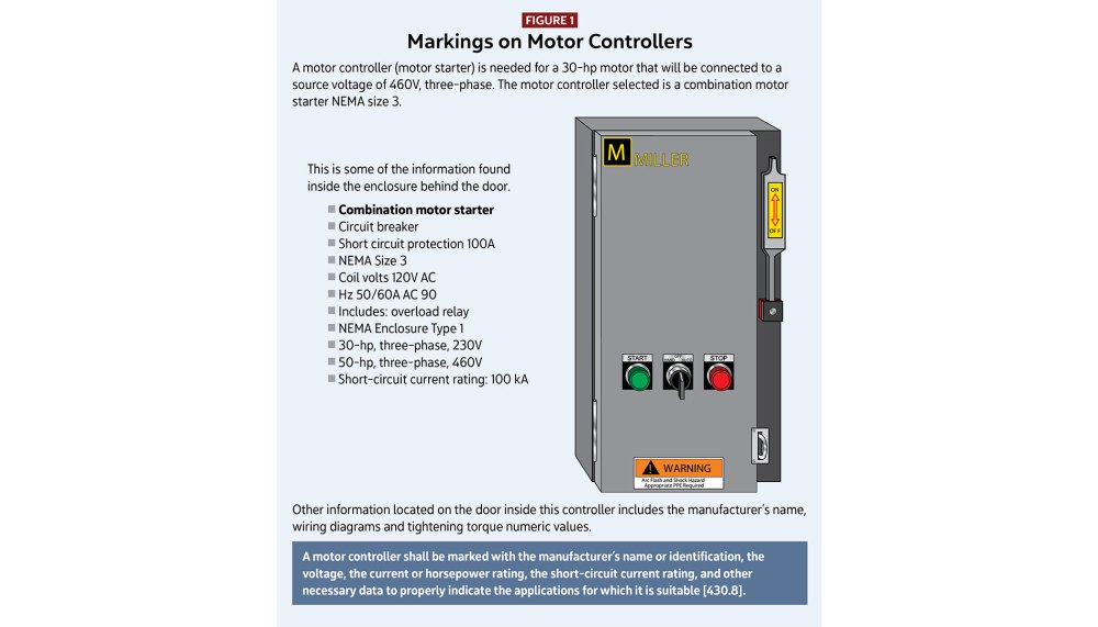 medium resolution of motors motor circuits and controllers part v article 430 electrical contractor magazine