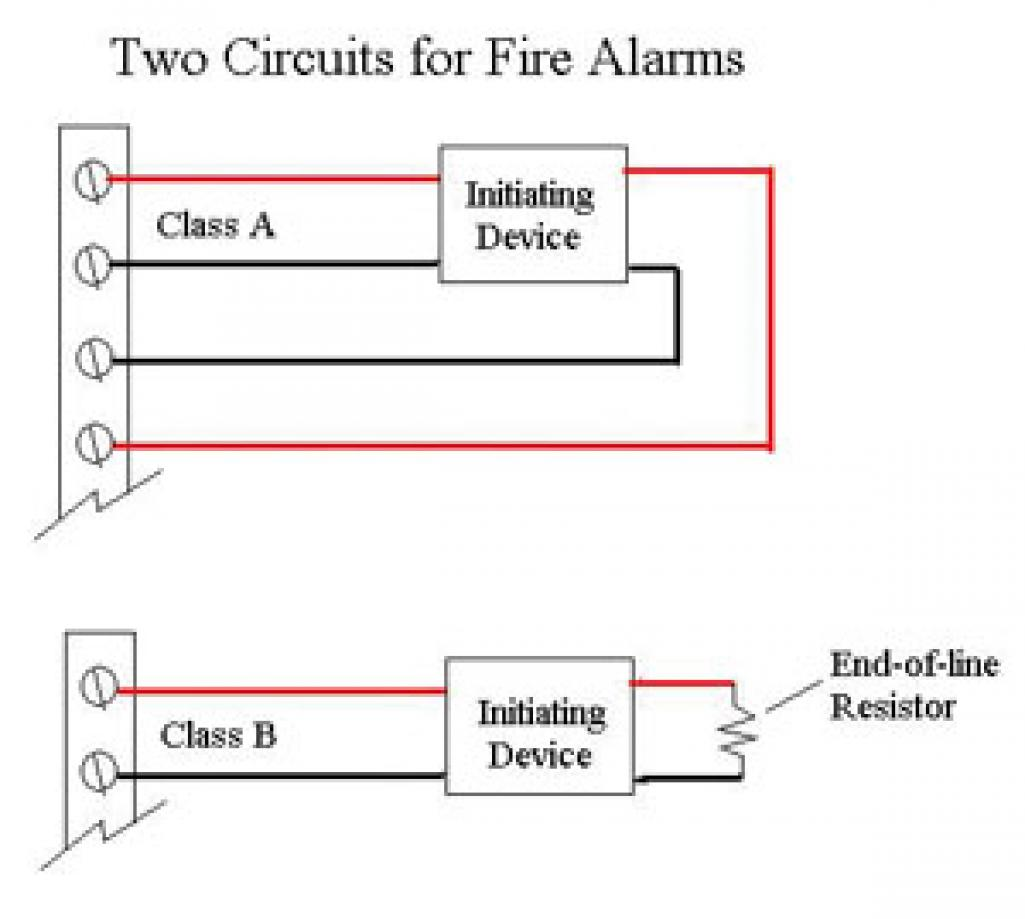 wiring diagram for fire alarm system cat 5 a or b wire electrical contractor magazine