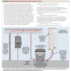 3 Phase Transformer Wiring Diagram How To Read Building Sizing Conductors, Part Xxxv | Ec Mag