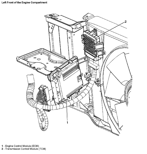 Allison transmission control module wiring