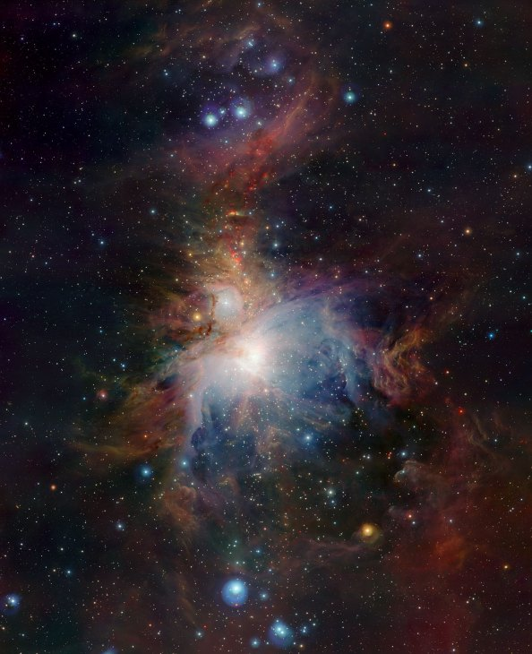 1 VISTA's infrared view of the Orion Nebula (120 x 97,6 cm) VERKOCHT