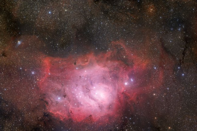 14 The Lagoon Nebula of Sagittarius (80,4 x 120 cm) €192,87