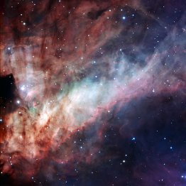15 The Omega Nebula and its hot young stars (120 x 120 cm) VERKOCHT