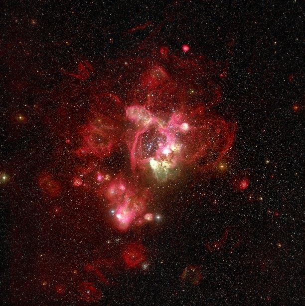 29 N44 in the Large Magellanic Cloud (120 x 119,6 cm) €287,14