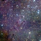 43 The Eagle Nebula in infrared light (120 x 120 cm) €288