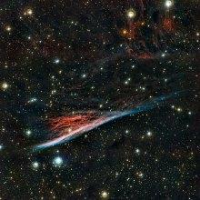 50 The Pencil Nebula (120 x 120 cm) VERKOCHT