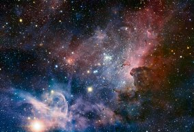 8 ESO's VLT reveals the Carina Nebula's hidden secrets(81,8 x 120 cm) VERKOCHT