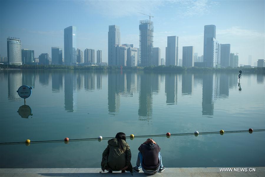 Swan Lake In Hefei E China S Anhui 1 9